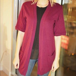 Ann Taylor LOFT cashmere cardigan
